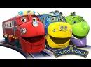 Мультики про поезда для детей - Веселые паровозики из Чаггингтона - Все серии под...