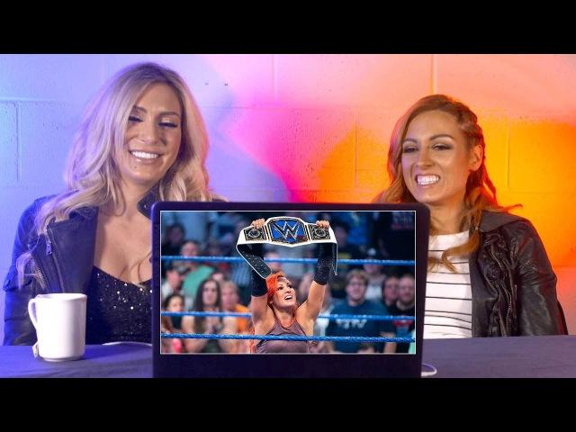 Becky Lynch Charlotte rewatch Becky's SmackDown Women's Title win: WWE Playback
