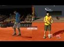 Роджер Федерер vs Рафаель Надаль Roland Garros Virtua Tennis 3