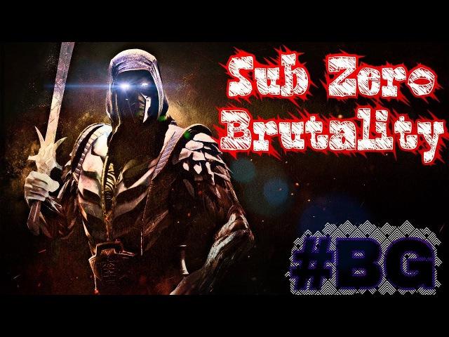 Sub Zero Mortal Kombat X (Brutality, Fatality )