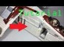 Lego Star Wars 2013 Republic Gunship Door Modification Tutorial