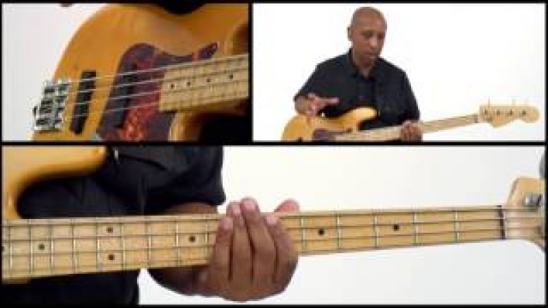 50 RB Bass Grooves - 42 - Bass Guitar Lesson - Andrew Ford