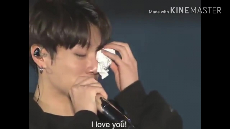 Dont Cry BTS JK, JHope and Suga crying moments at Wings Tour Final in Seoul Day