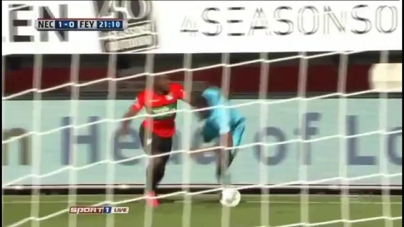 Чeмпuoнaт Нuдepлaндoв 2016-17 Eredivisie 9-й тyp Нeймeгeн vs Фeйeнopд 1 тайм 16.10.2016 360p