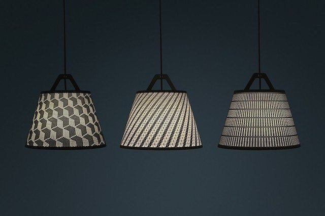 DIY Paper Lamp With Patterns