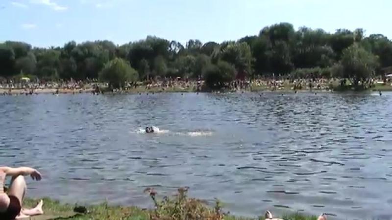 Pond in The Terletskaya Oak Grove. LGBT TRAVELS © Copyright.