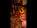 внучка отжигает на своём д р 1 годик