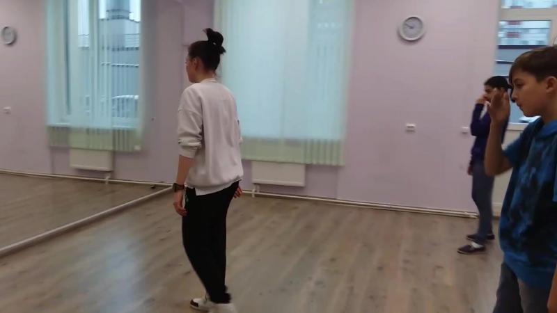 репетиция с Оксаной Загребиной