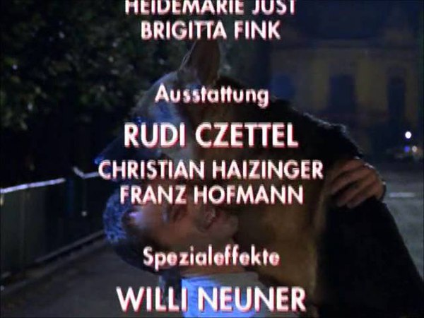 Kommissar Rex - Ending credits 1997-1999