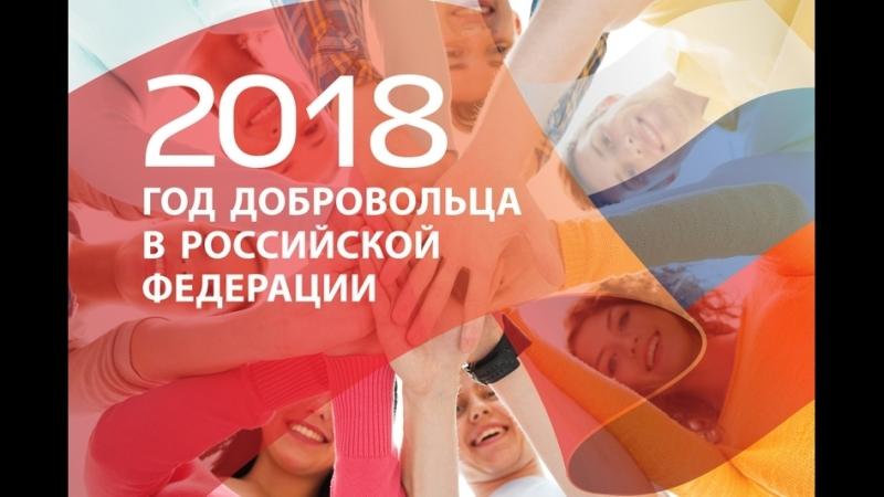 2018 год объявлен в России Годом добровольца и волонтера