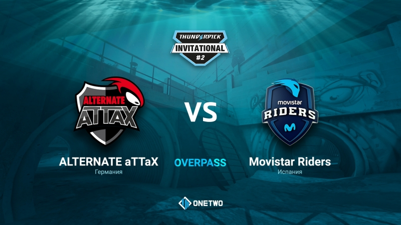 Thunderpick Invitational 2 ALTERNATE aTTaX vs Movistar Riders BO1 by Afor1zm