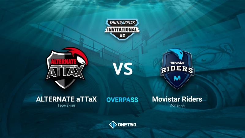 Thunderpick Invitational 2 | ALTERNATE aTTaX vs Movistar Riders | BO1 | by Afor1zm