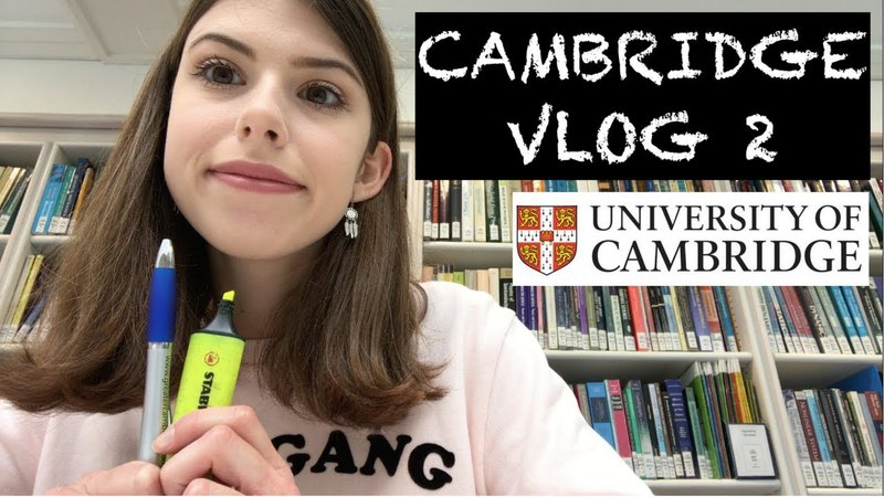 CAMBRIDGE VLOG 2: Library fun, supervisions and assassin's guild!