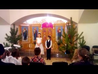 г. Рождественский утренник в храме Покрова г. Запорожье