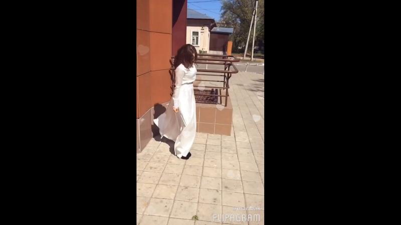 Невеста в платье от никах студии Келiн