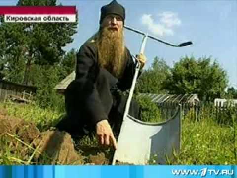 Чудо-лопата монаха - отца Геннадия