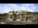 Каркасный дом 9х6 м с террасой 2х6 м Часть 2 Монтаж перекрытия стропил и обрешетки