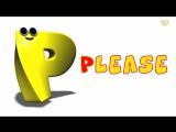 Phonics Letter- P song - Five Little Penguins - Kids Tv Nursery Rhymes For Children - Cartoon Songs