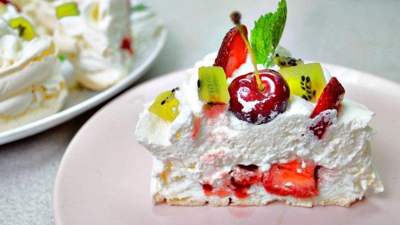Пирожные АННА ПАВЛОВА бомбезный десерт Не пропустите