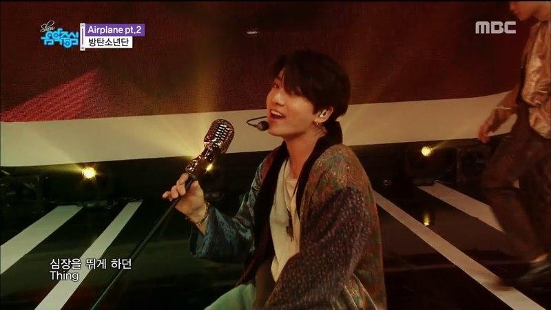 [MR Removed] 180526 BTS (방탄소년단) - Airplane pt.2 @ Show! Music Core