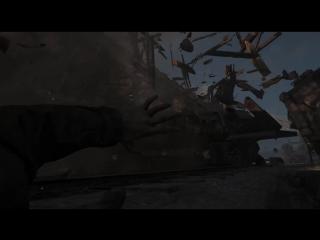 Call of Duty WWII Поезд сделал бум!