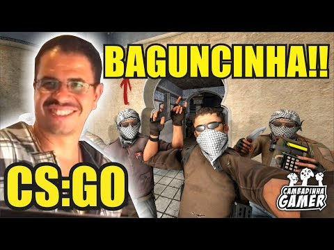 A PIOR PARTIDA DE CS:GO DO MUNDO!! MUITA BAGUNCINHA E TIRO