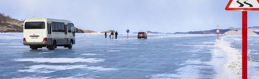 Как пользоваться ледовой переправой для автомобилей?