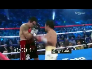 Manny Pacquiao's 7 punch combination in 1.2 seconds /// ММА 95
