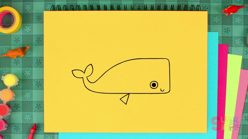 How to Draw A Whale . Episode 17