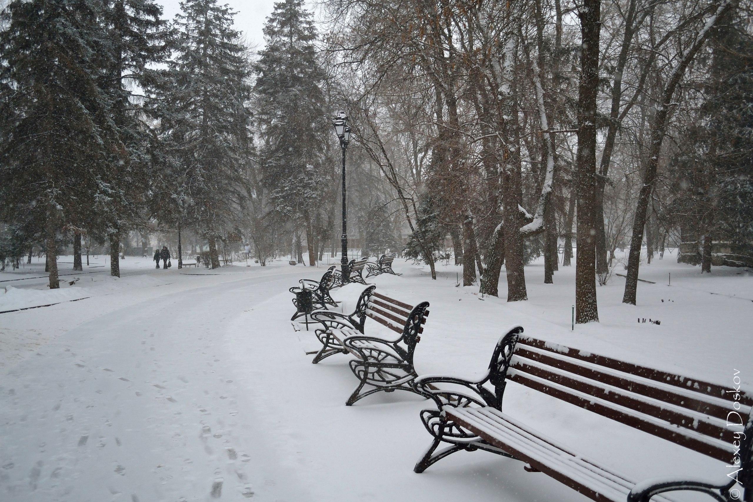 В Саратове долгожданный снег!