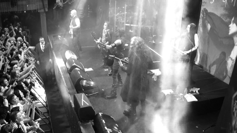 Cradle of Filth - The Promise Of Fever Nymphetamine (Fix) Her Ghost In The Fog [Moscow, 09 03 2018, RED]