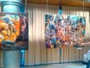 Panorama de la exposición del pintor Zaza Papidze, Alfaro (La Rioja, España), 2015