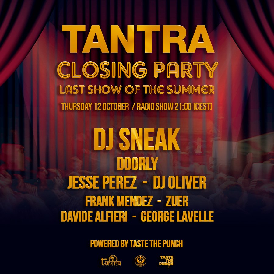 Last Show Of The Summer, Tantra Club, October 12, 2017