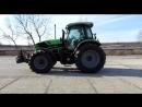 Испытания трактора!