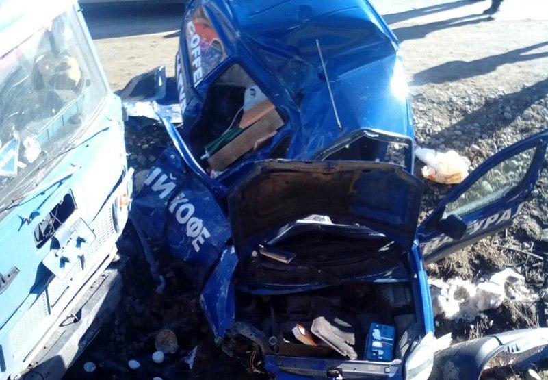 Два автомобиля столкнулись в Архызе по вине пьяного водителя из Владикавказа
