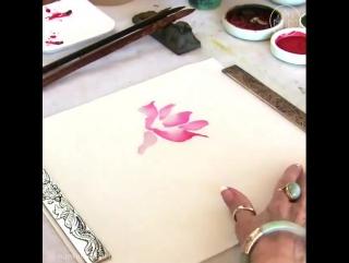 My Modern Met - Nan Rae Fine Art doesnt sketch out her paintings....