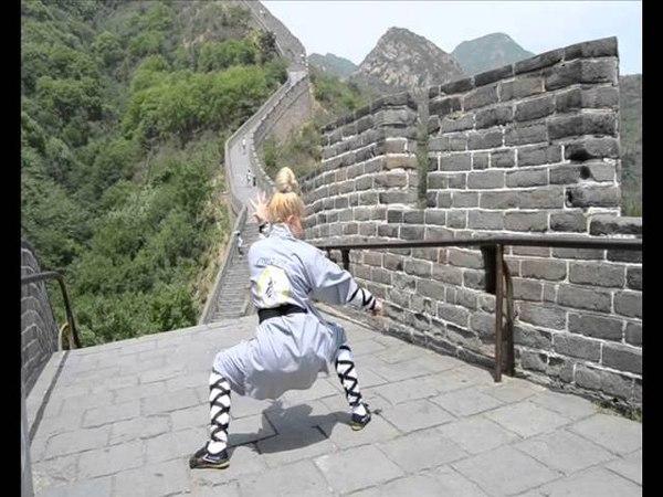 Qi Xing Quan Shaolin Form Traditional Kung Fu shifu Paty Lee