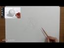 [Азбука Рисования] Как нарисовать такое ухо. Как рисовать уши карандашом - видео урок.
