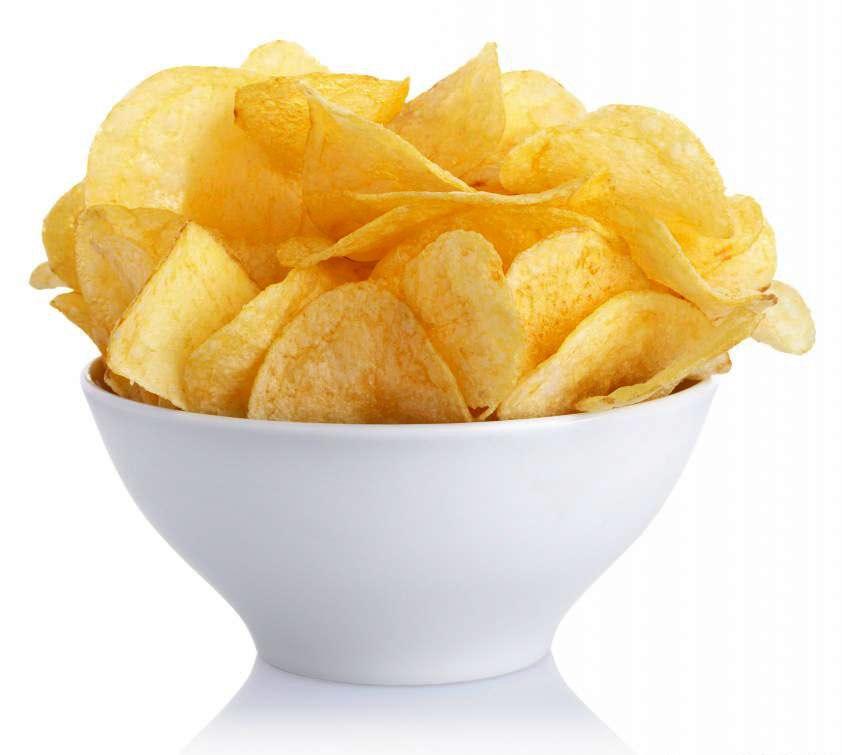Компании, которые выращивают картофель, делают чипсы и продают их потребителям, являются частью пищевой промышленности.