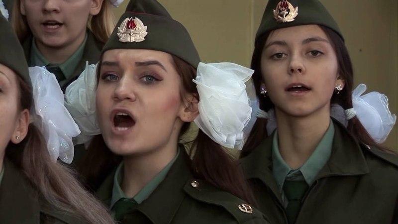 Почетный караул МОУ СШ № 48 на Посту № 1. Ноябрь, декабрь 2015 г. 7-11 классы. Волгоград