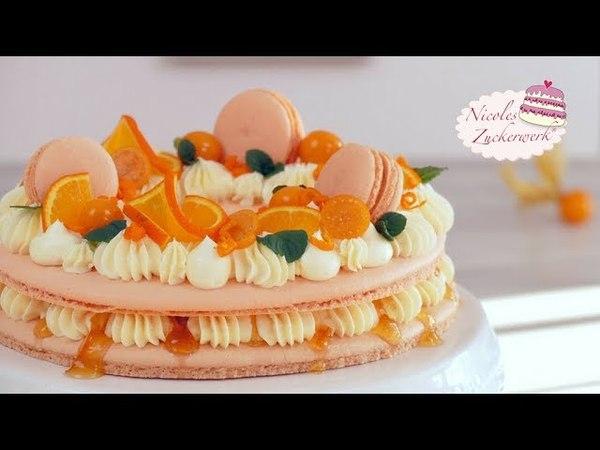(vk.com/lakomkavk) Macaron Torte I absoluter Hingucker auf eurer Kaffeetafel I Rezept von Nicoles Zuckerwerk