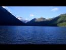 Утро на Мультинском озере. Алтай.