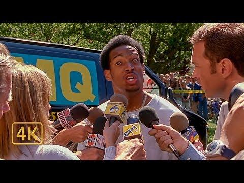 Беги сука беги! Репортёры берут интервью у мелкого. Очень страшное кино (2000)