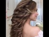Простая и быстрая техника греческой косы на очень длинные волосы❤️