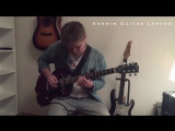 Anshin Guitar Lessons - Farewell Ballad (Zakk Wylde cover)