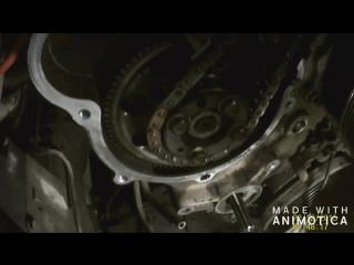 установка ТНВД и замена цепи ГРМ на мотор Z30D