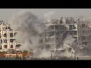 Сирия 14 03 2018 Ополчение САА NDF ведет обстрел позиций боевиков в Лерамон Алеппо