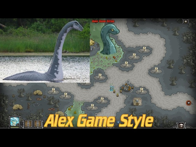 Kingdom Rush HD    Achievement NESSIE    Discover the Hidden Monster Under Water