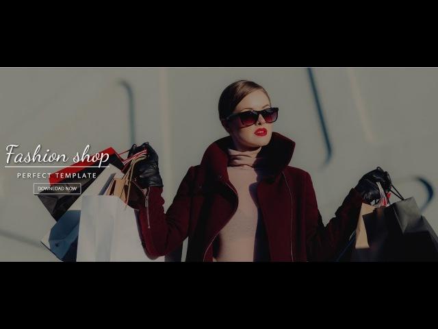Бесплатный шаблон модного магазина от ABZ Studio