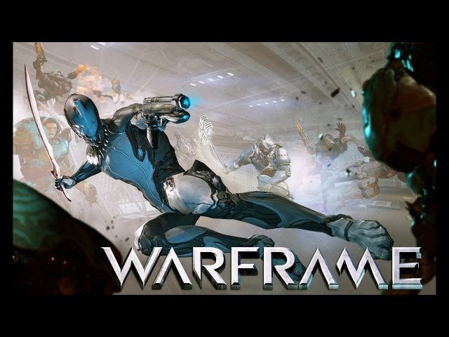 Warframe : уничтожение врагов, стрим прохождение 1